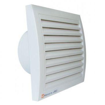 Вентилатор за баня ММ100кв клапа
